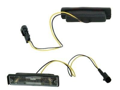 Osvetlitev registrske tablice Fiat Cinquecento 91-