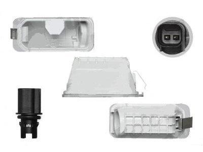 Osvetlitev registrske tablice Ford Mondeo 10-