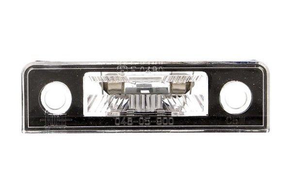 Osvetlitev tablice Škoda Octavia 04-12
