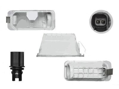 Osvetljenje registarske tablice Ford Mondeo 10-