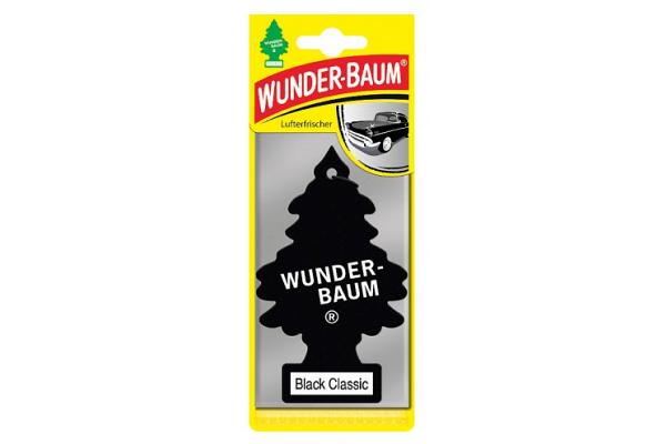 Osvežilec zraka Wunder-Baum smrečica (črna klasika)