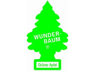 Osvežilec zraka Wunder-Baum Smrečica - Zeleno jabolko
