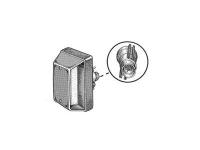 Osvjetljenje registarske tablice IVECO Turbodaily 00-06