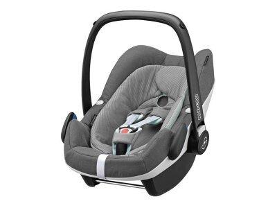 Otroški avtomobilski sedež Maxi-cosi Pebble Plus 0-13 kg, siva