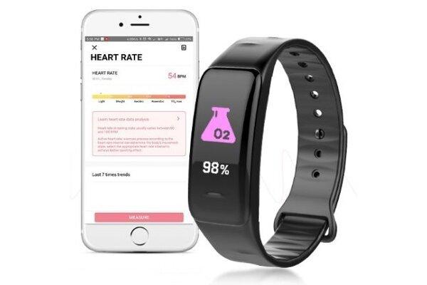 Pametna ura C1 Plus, vodoodbojna IP67, števec korakov, merilec srčnega utripa