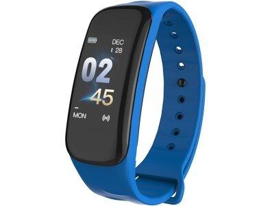 Pametna ura C1 Plus, vodoodbojna IP67, števec korakov, merilec srčnega utripa, Modra