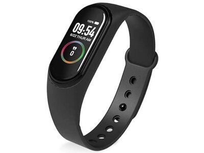 Pametna ura M4 2019, vodoodbojna, števec korakov, merilec srčnega utripa + Brezplačna dostava