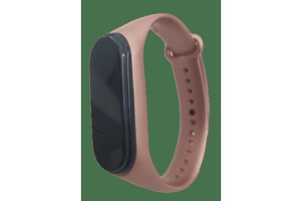 Pametna ura M4 2019, vodoodbojna, števec korakov, merilec srčnega utripa, Glossy Pink + Brezplačna dostava