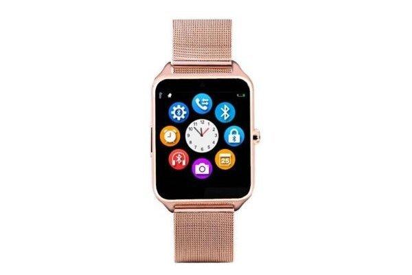 Pametna ura Z60, Bluetooth, fotoaparat, GPS, SIM kartica, TF kartice, Zlata