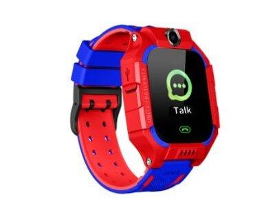 Pametna ura za otroke Q19, LBS, Geo Fence, Klici, SMS, SOS tipka, rdeča