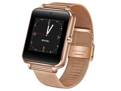 Pametni sat Z60, Bluetooth, fotoaparat, GPS, SIM kartica, TF kartica, Zlatna