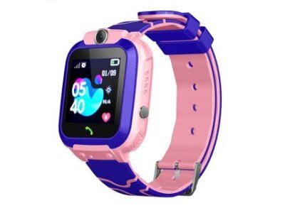 Pametni sat za decu 12, LBS + GPS, SOS taster, Geo Fance, Pozivi, SMS, Roza
