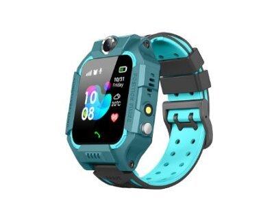 Pametni sat za djecu Q19, LBS + GPS, SOS tipka, Geo Fance, Pozivi, SMS, plava