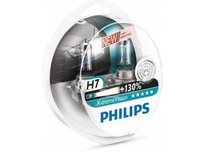 Par sijalica Philips 12V H7 55W X-treme vison