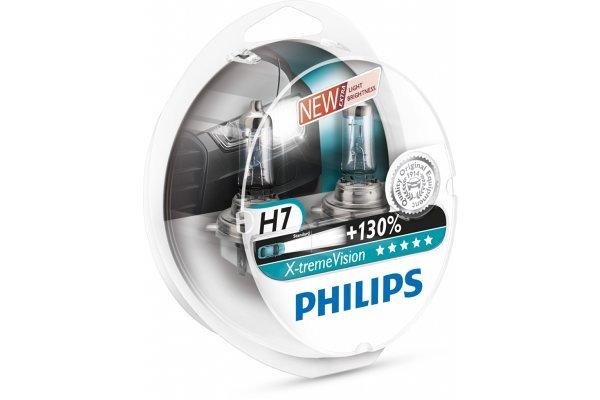 Par žarnic Philips 12V H7 55W X-treme vision