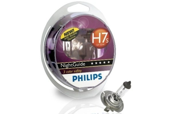 Par žarulja Philips 12V H7s 55W Night Guide