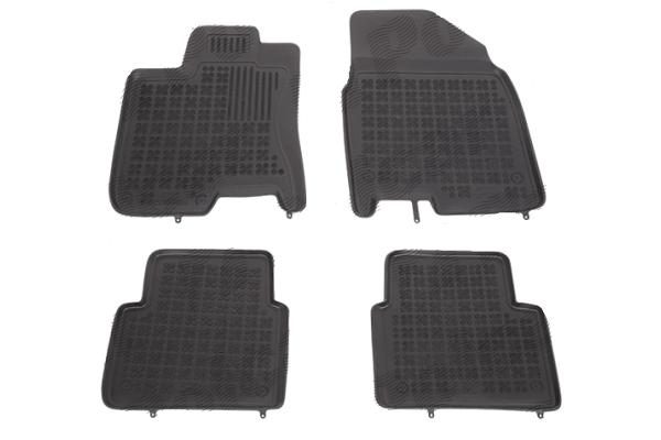Patosnice (elastomer) Nissan Qashqai  07-13, 7 sedišta