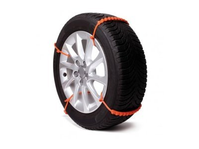 Plastične vezice za boljši oprijem avtomobilskih pnevmatik v snegu ali blatu, 8 kos