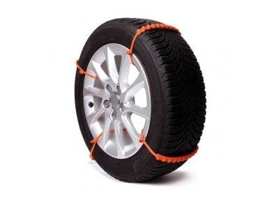 Plastične vrpce za bolje prijanjanje automobilskih guma u snegu ili blatu, 8 kom