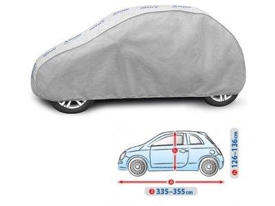 Pokrivalo za avto Kegel Grey Hatchback S3, 335-355cm