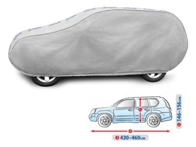 Pokrivalo za avto Kegel Grey L SUV, 430-460 cm