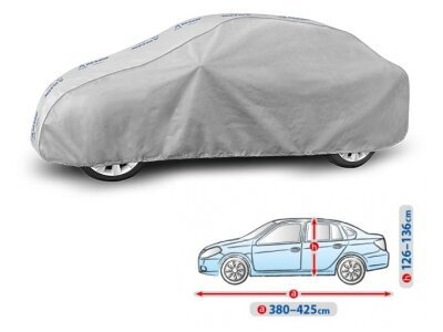 Pokrivalo za avto Kegel Grey M Sedan, 380-425cm