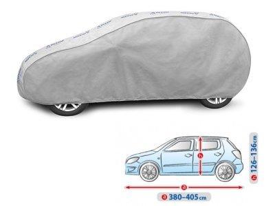 Pokrivalo za avto Kegel Grey M2 Hatchback, 380-405cm
