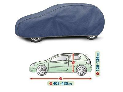 Pokrivalo za avto Kegel Hatchback Blue L1, 405-430 cm
