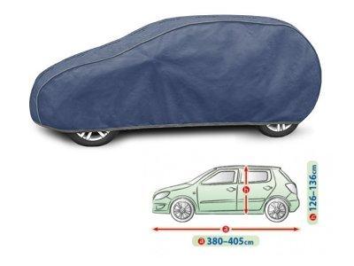 Pokrivalo za avto Kegel Hatchback Blue M2, 380-405 cm