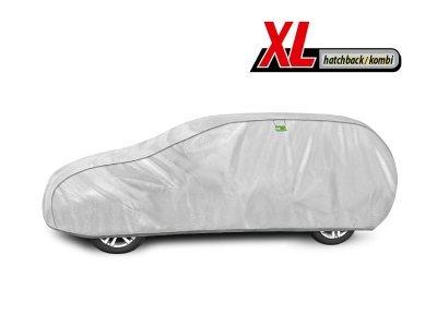 Pokrivalo za avto Kegel Hatchback/Caravan Silver XL, 455-480 cm