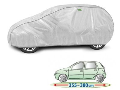 Pokrivalo za avto Kegel Hatchback Silver M1, 355-380 cm