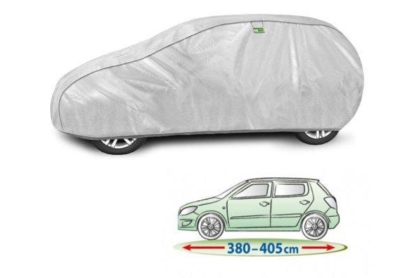 Pokrivalo za avto Kegel Hatchback Silver M2, 380-405 cm
