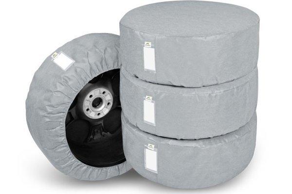 Pokrivalo za rezervno gumo Kegel, velikost L, 4 kosi