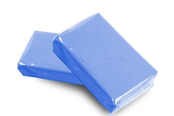 Polirni plastelin za vozilo, 100g, Modra