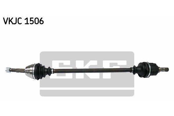 Poluosovina Opel Corsa B 93-00, 910mm