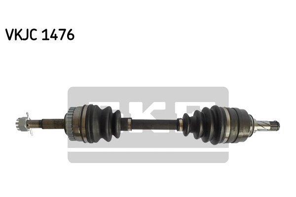 Poluosovina (prednja, leva) VKJC1476 - Opel Corsa B 93-00 (samo po porudžbini)