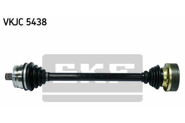 Poluosovina (prednja, leva) VKJC5438 -  Audi A4 00-04 (samo po naročilu)