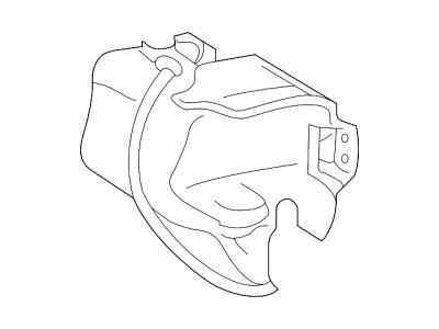 Posuda za pranje stakla Chrysler Sebring 00-07, Sa pumpom za pranje stakla