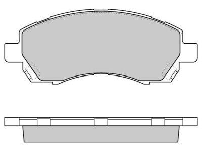 Prednje kočione obloge S70-0424 - Subaru Impreza 92-00