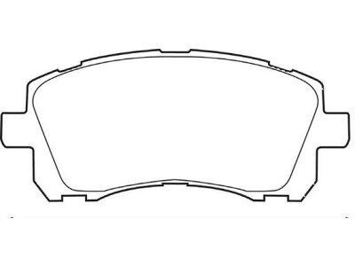 Prednje kočione obloge S70-0469 - Subaru Forester 97-02