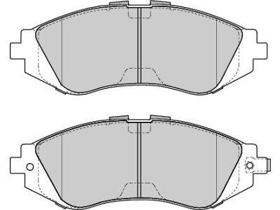 Prednje kočione obloge S70-0495 - Chevrolet, Daewoo