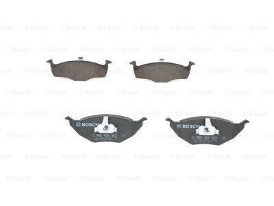 Prednje zavorne obloge BS0986424502 - Volkswagen Lupo 98-05