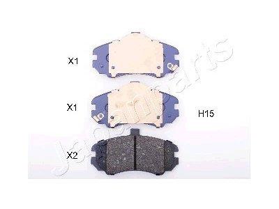 Prednje zavorne obloge PA-H15AF - Hyundai Elantra 00-06