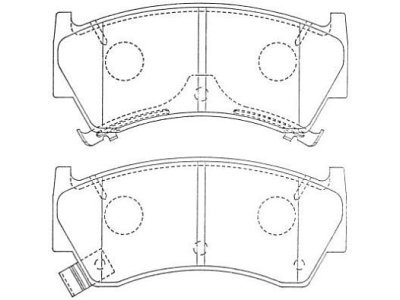 Prednje zavorne obloge S70-0102 - Nissan Almera 95-00