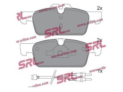 Prednje zavorne obloge S70-0627 - Peugeot 508 10-