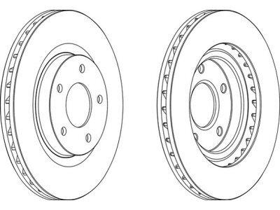 Prednji diskovi kočnica Chrysler Sebring 07-11
