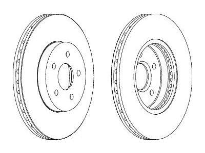 Prednji kočioni diskovi S71-0009S - Ford Mondeo 00-07