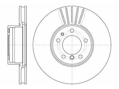 Prednji kočioni diskovi S71-0039 - BMW