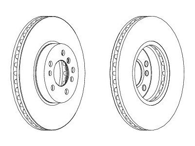 Prednji kočioni diskovi S71-0326 - BMW X3 (E53) 00-07