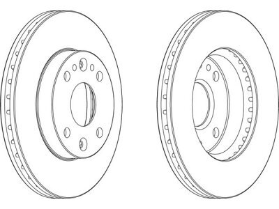 Prednji kočioni diskovi S71-0331 - Kia Rio 00-05